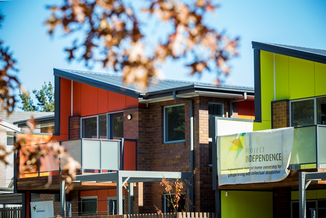 6 May 2016: Project Independence Latham housing launch.